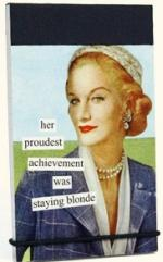 Blonde Mini Notepad