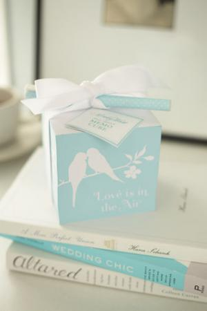 Love Birds Memo Note Cube