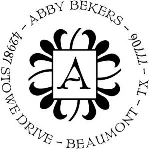 PSA Abby Personalized Stamp