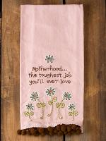 Motherhood... Tea Towel