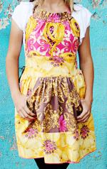 Children's Franny Yellow Apron